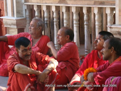 pandas or priests of Kamakhya temple